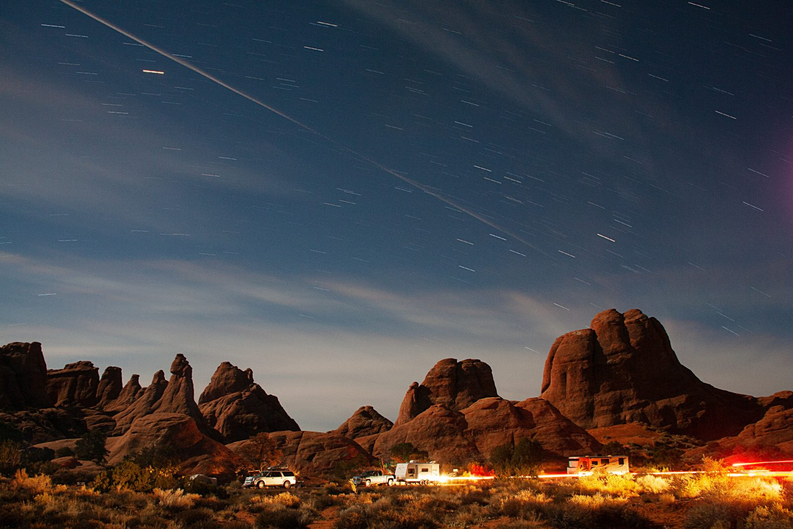 Devil's Park Campground - Arches, N.P.