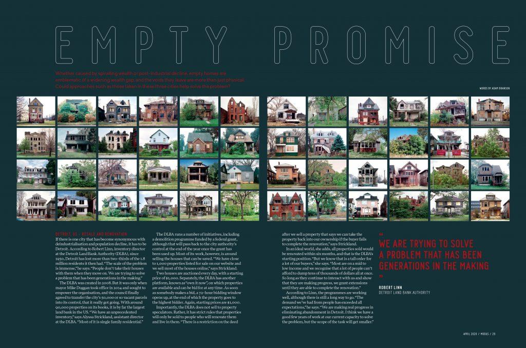 Abandoned House Photos in Modus Magazine