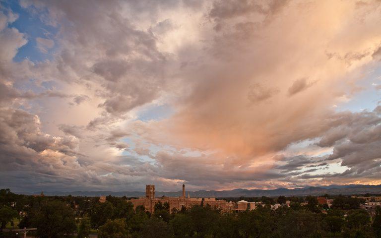 Denver Front Range Sunset