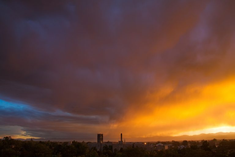 West High sunset