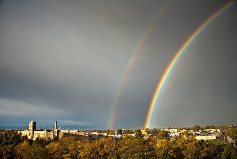 Denver double rainbow