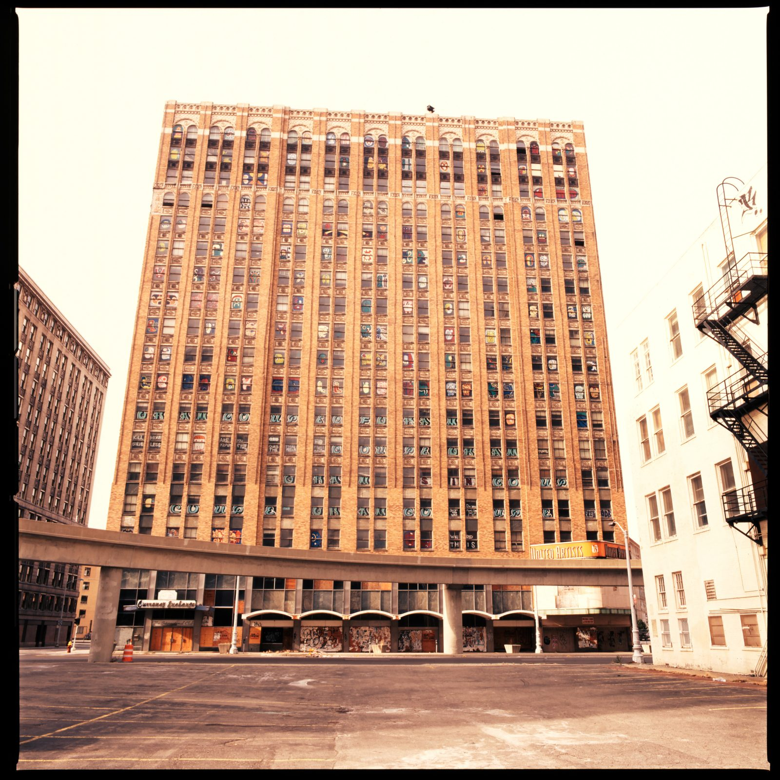 United Artists Theater. Detroit, Michigan.