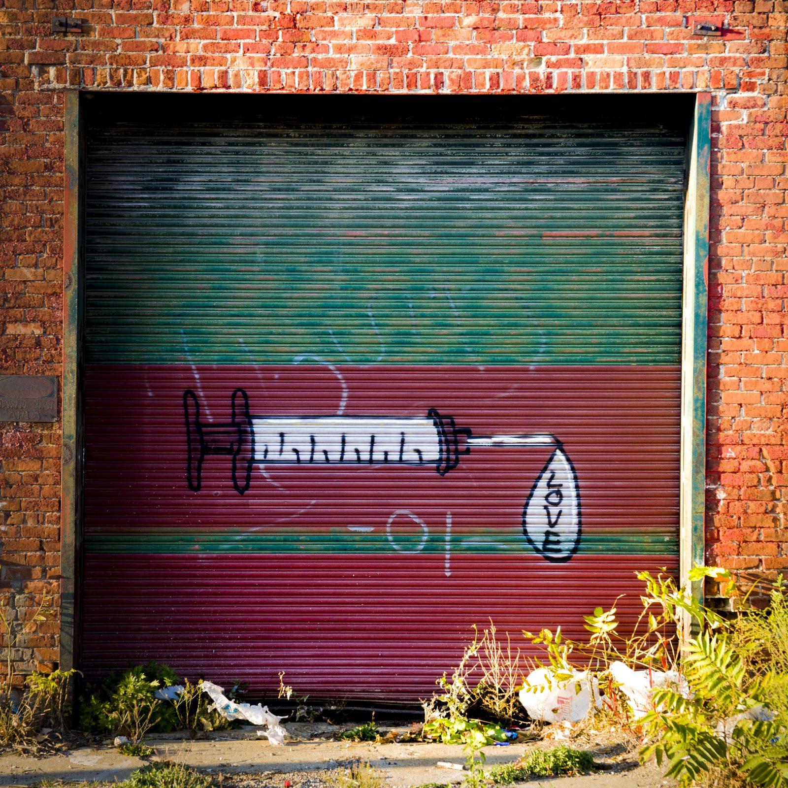Love mural, Detroit