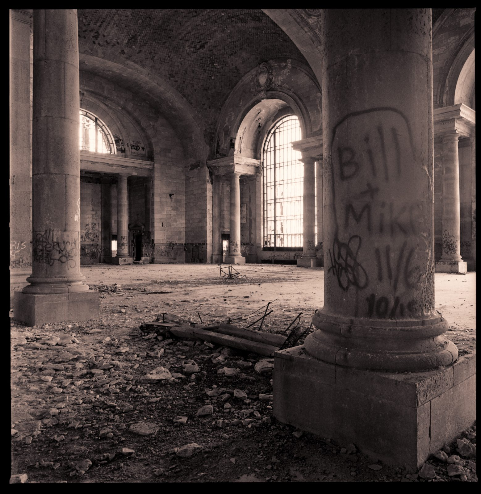 Michigan Central Station. Detroit, Michigan.