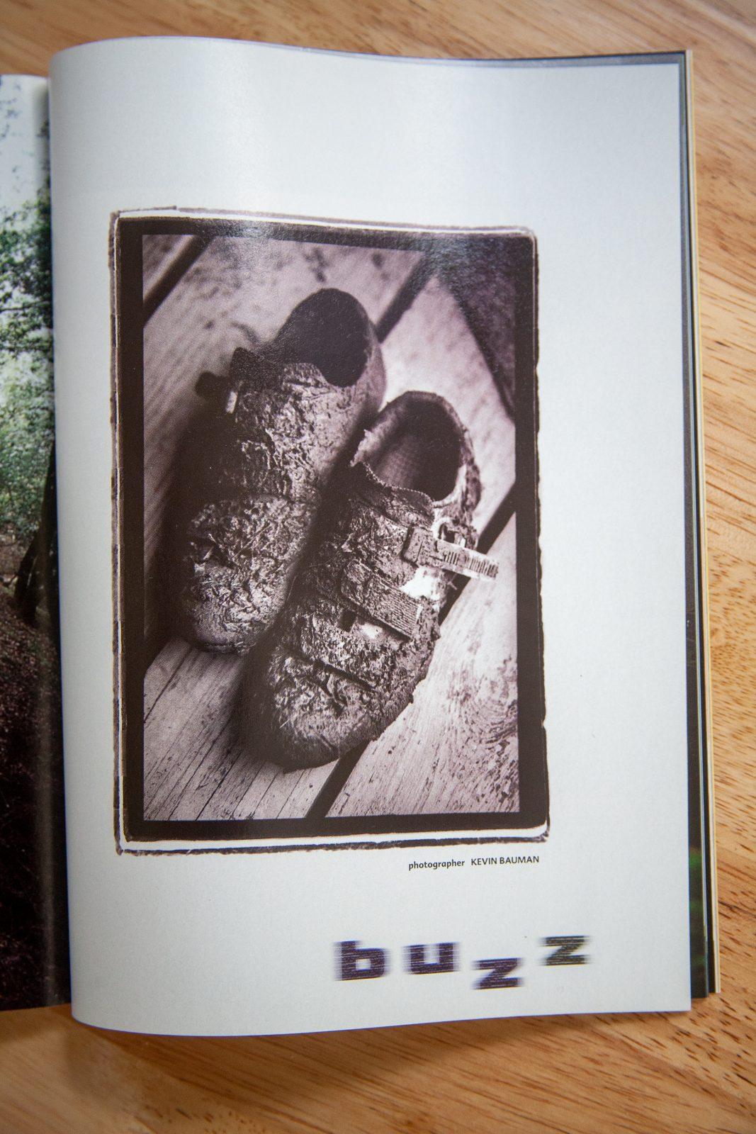 Bike Magazine - Muddy shoes