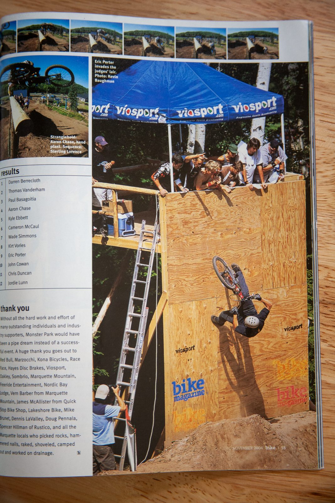 Bike Magazine - Monster Park