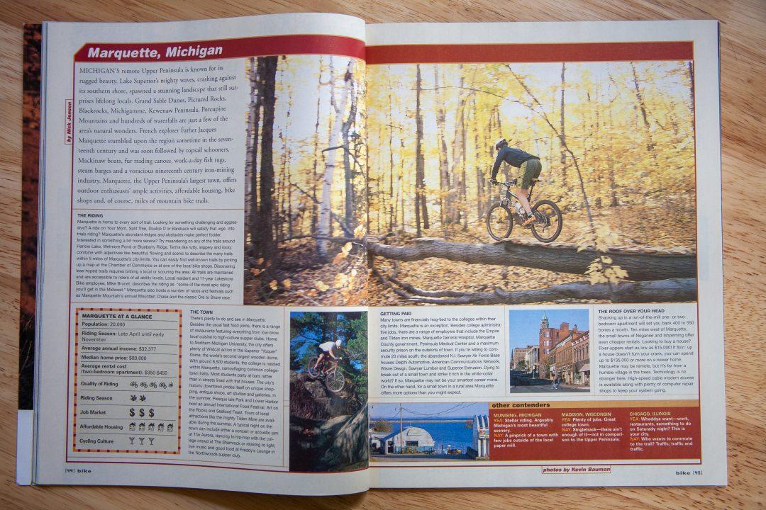 Bike Magazine - Marquette, Michigan