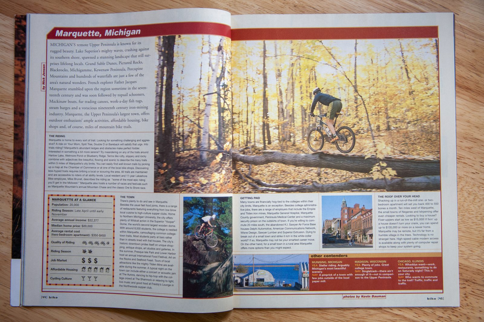 Bike Magazine - Marquette, Michigan