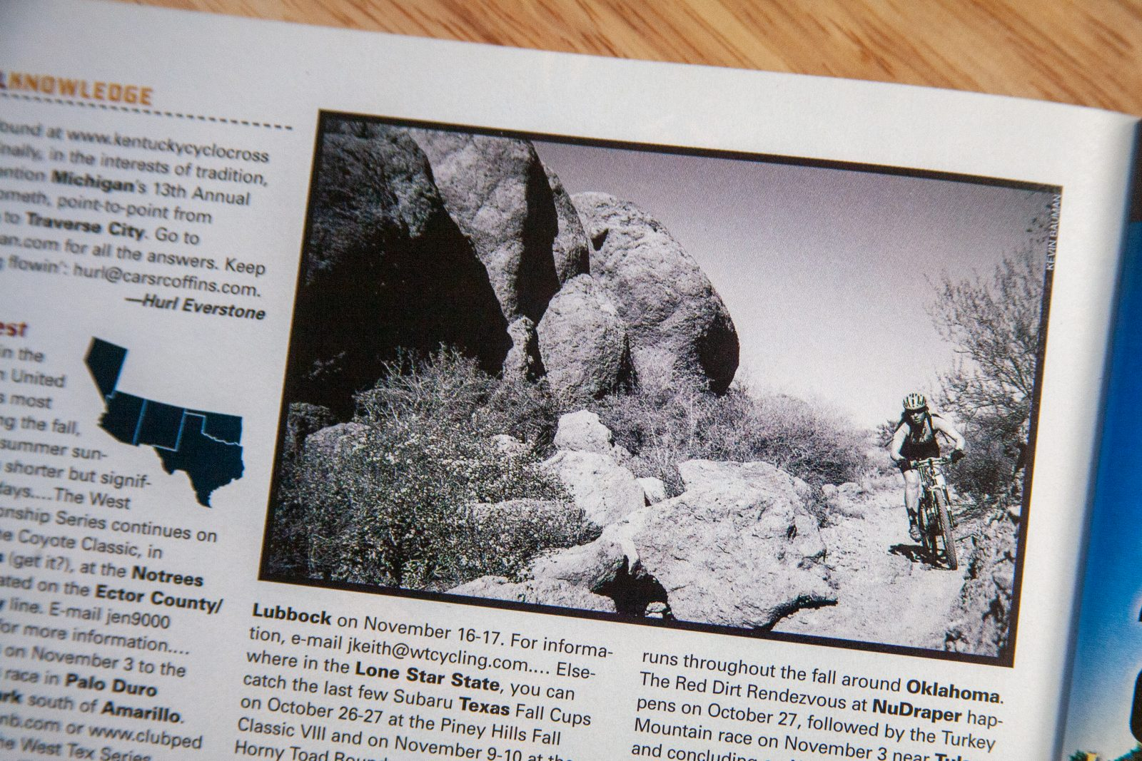 Bike Magazine - Star Pass trail
