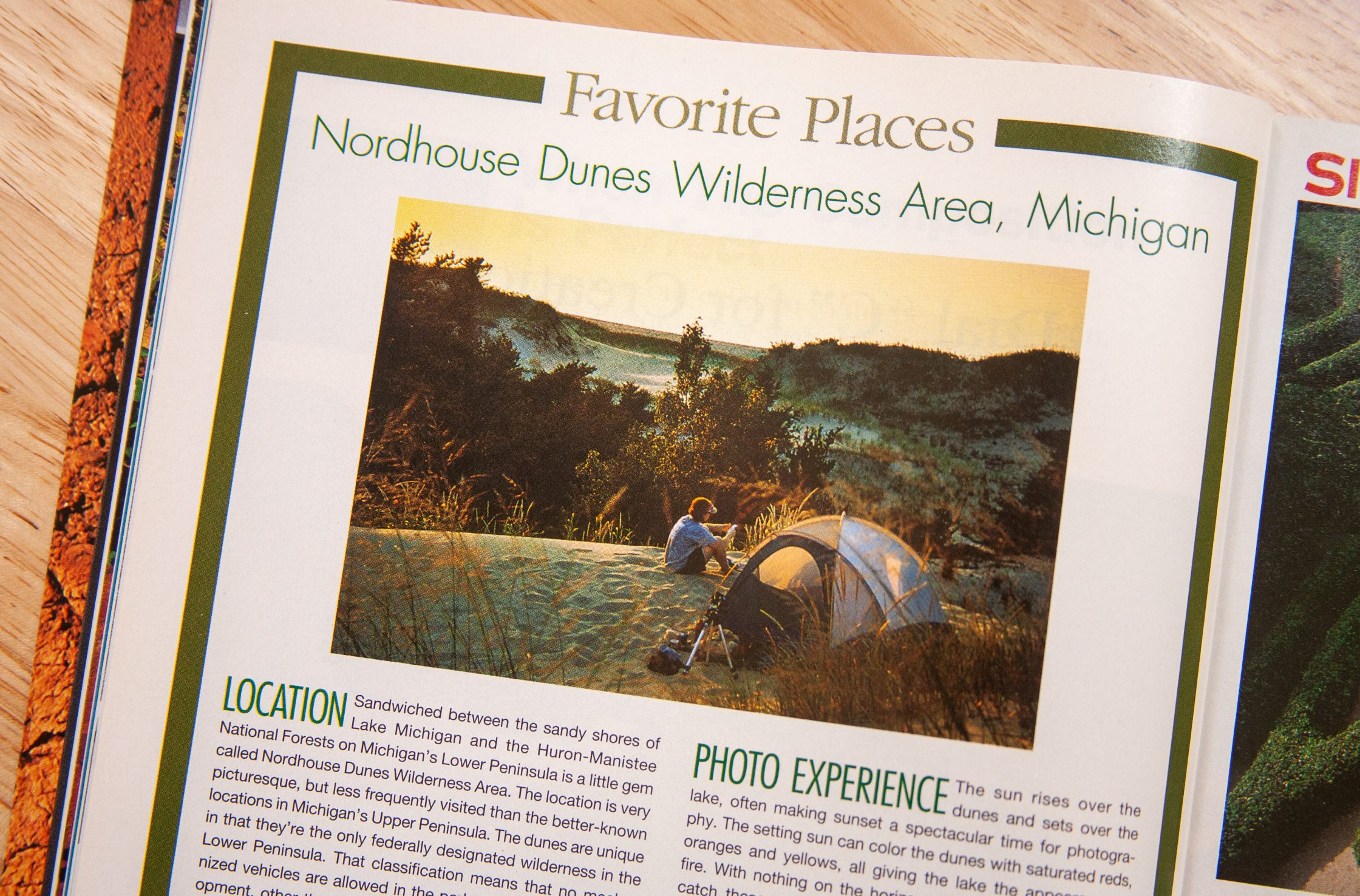 Nordhouse Dunes Wilderness for Outdoor Photographer