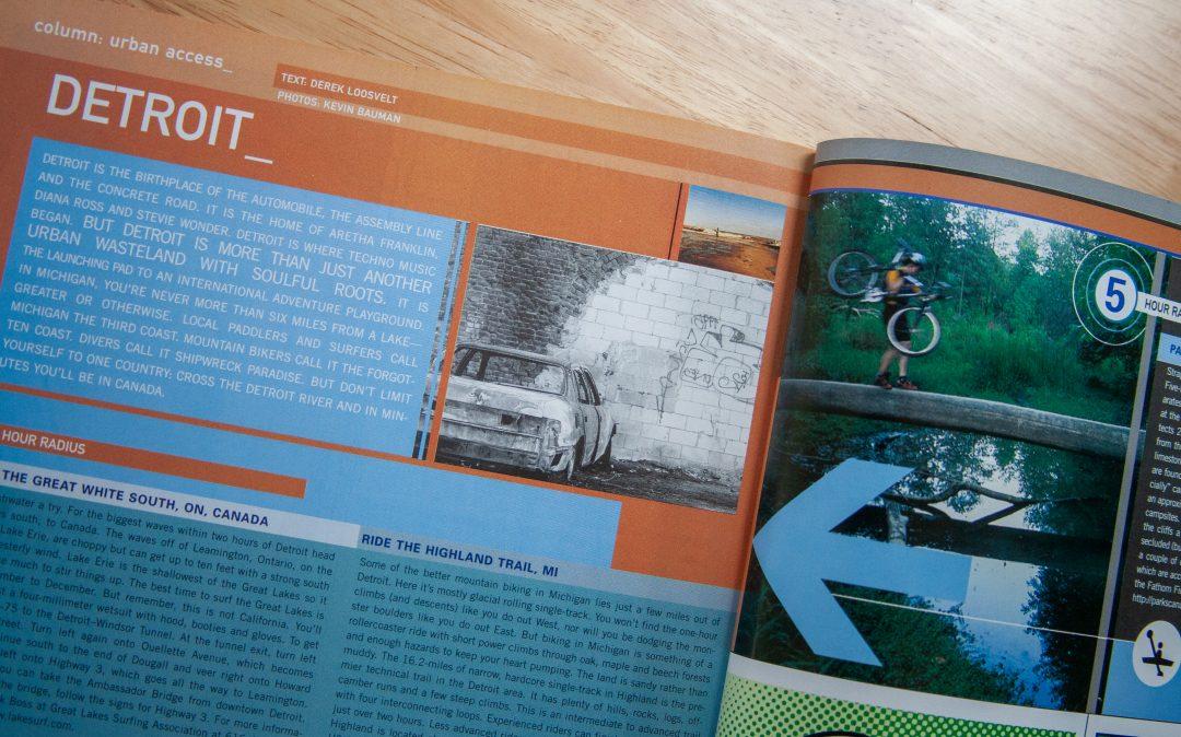 Detroit in Blue magazine