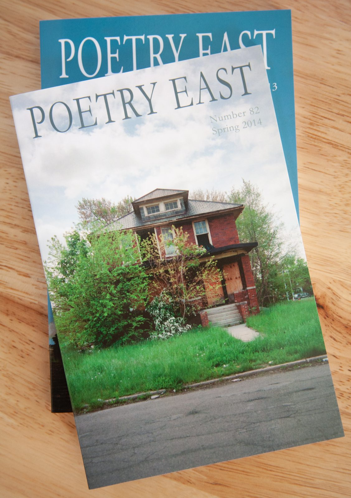 Poetry East abandoned houses