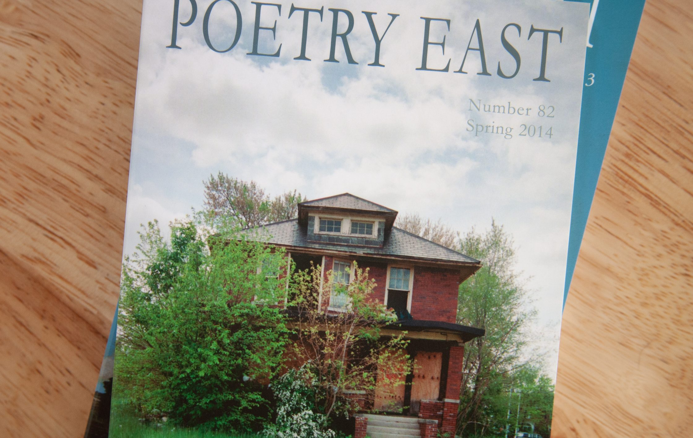 Poetry East cover