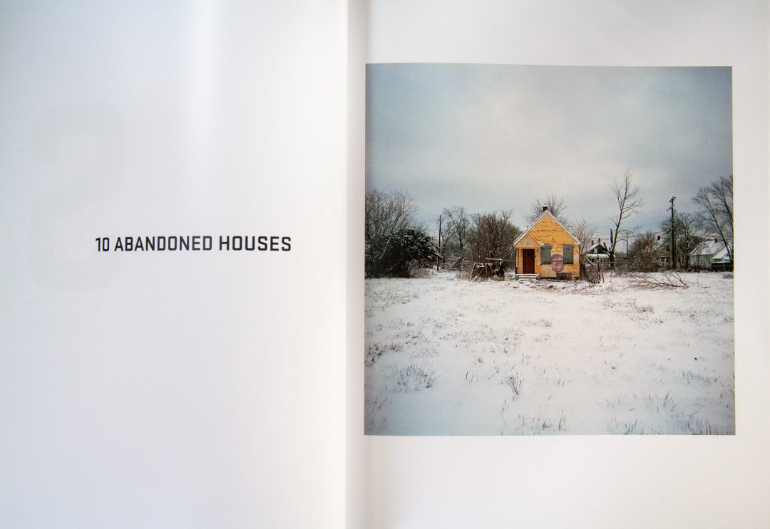 Abandoned houses. Words and photography. Under the Influence.