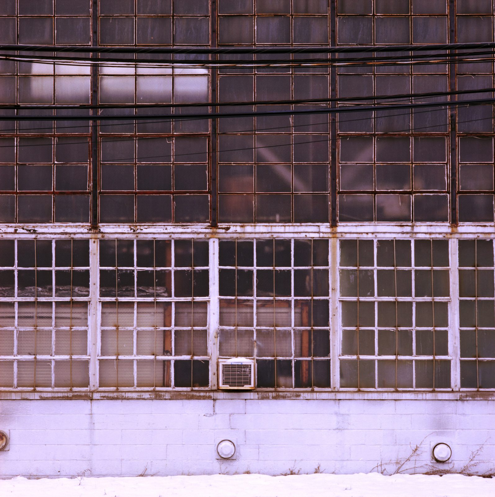 Highland Park Industrial Building Windows