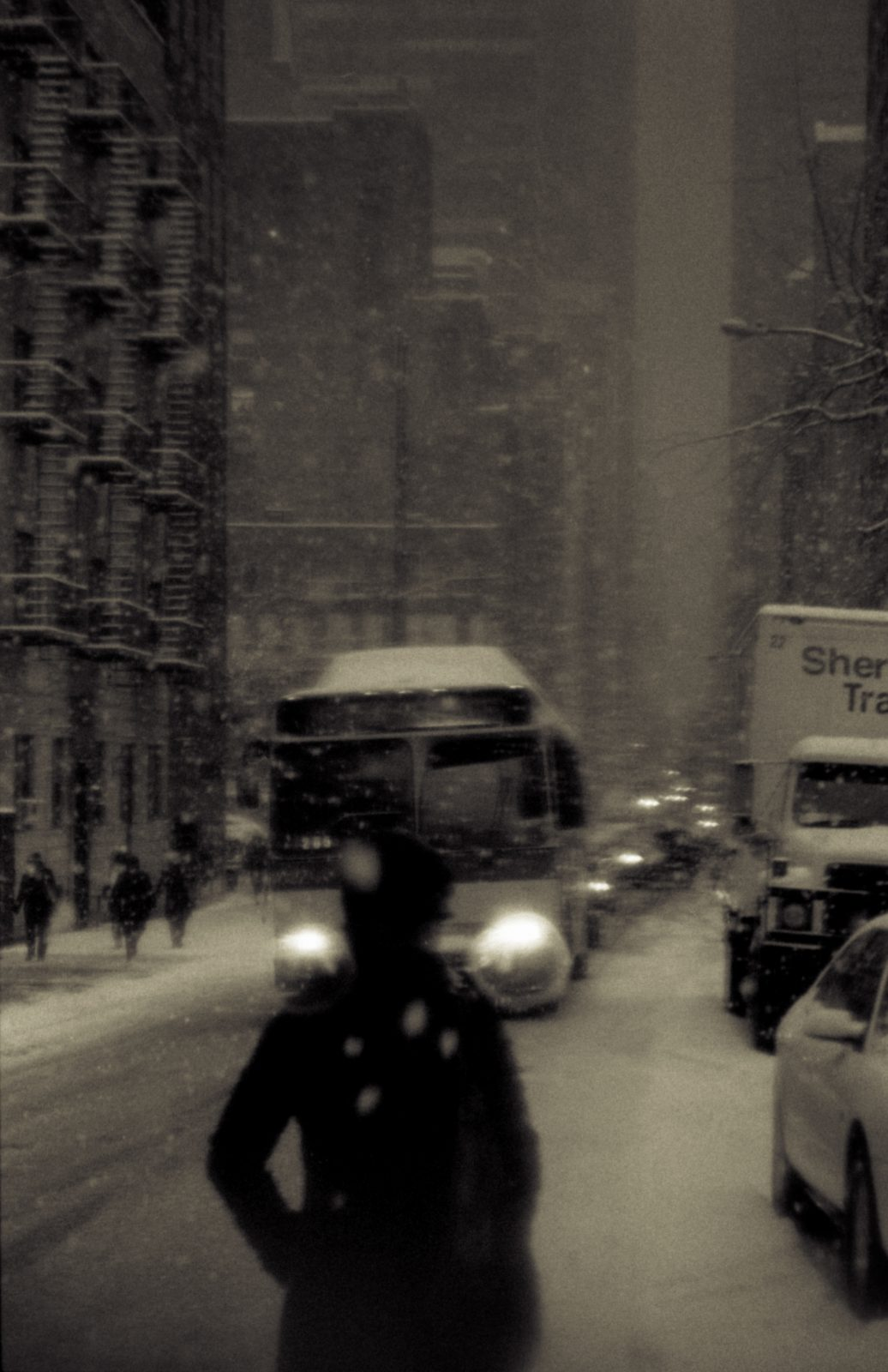 New York City snowstorm