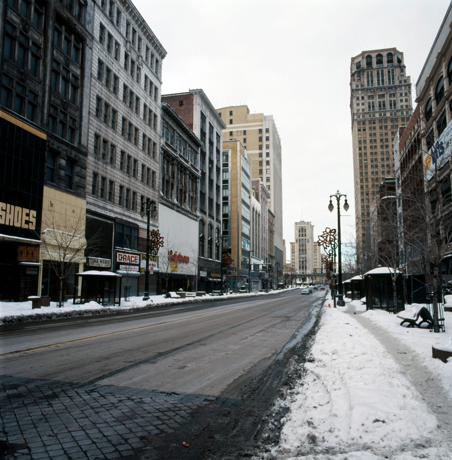 Woodward Avenue. Detroit, Michigan.