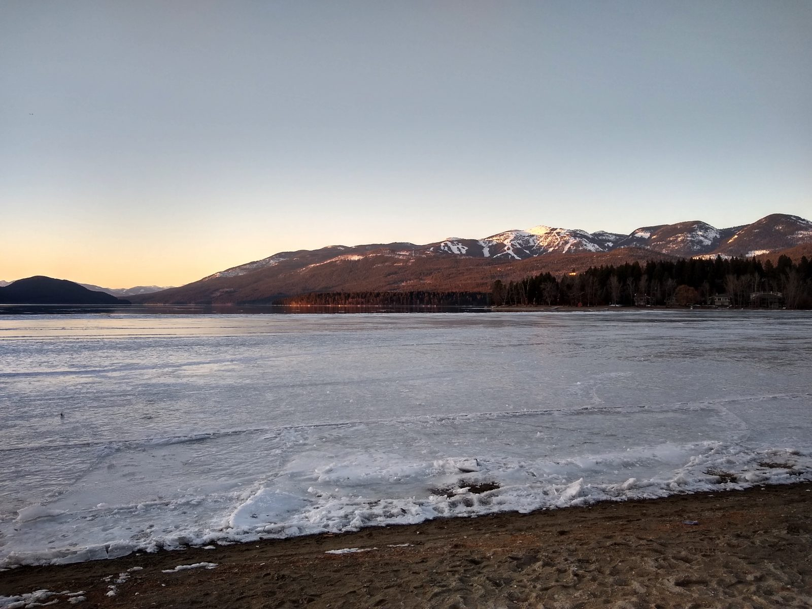 Whitefish Lake - March 16, 2020