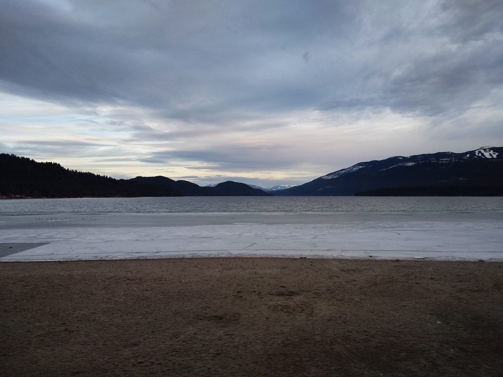 Whitefish Lake - March 23, 2020