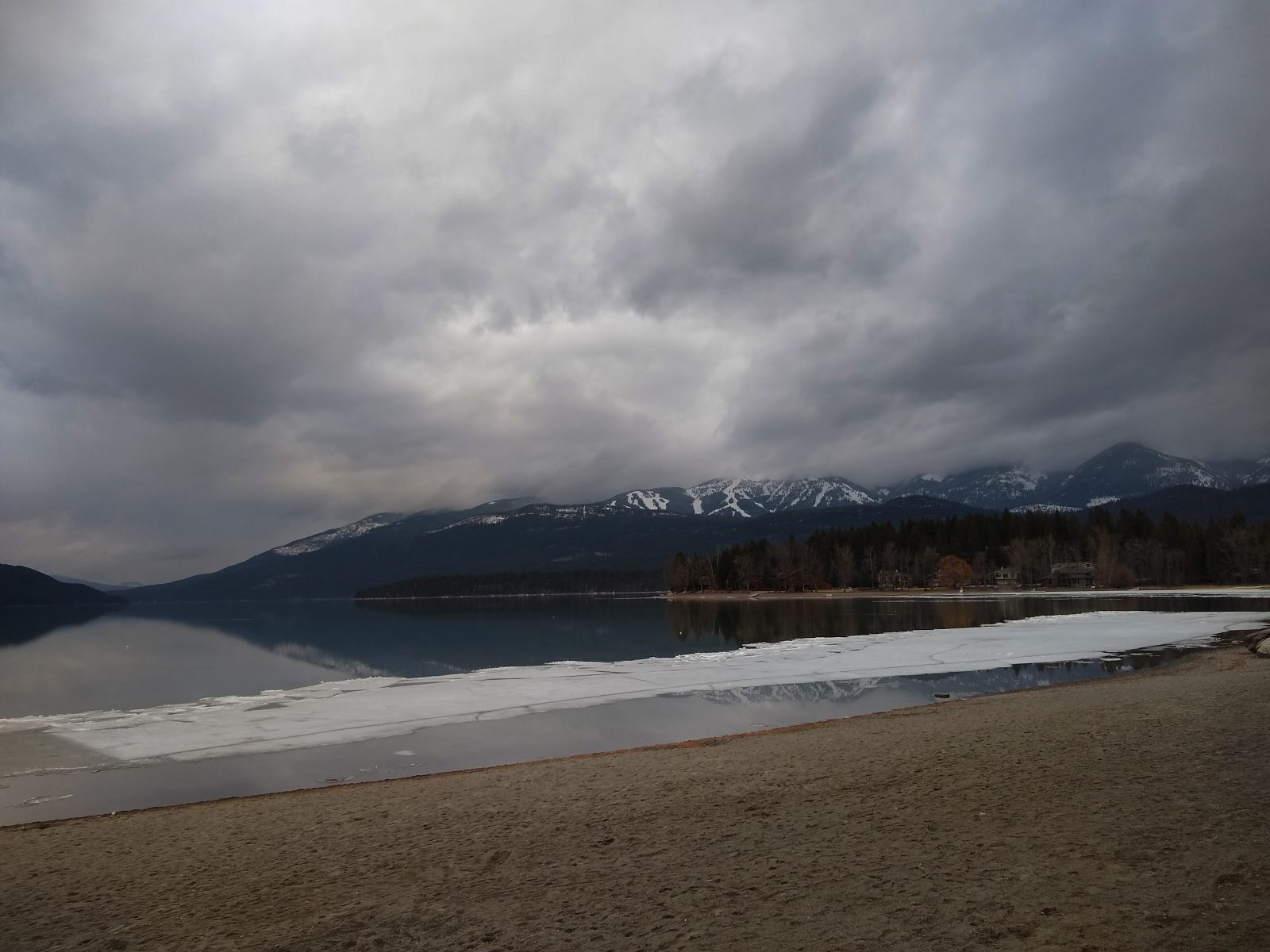 Whitefish Lake - March 27, 2020