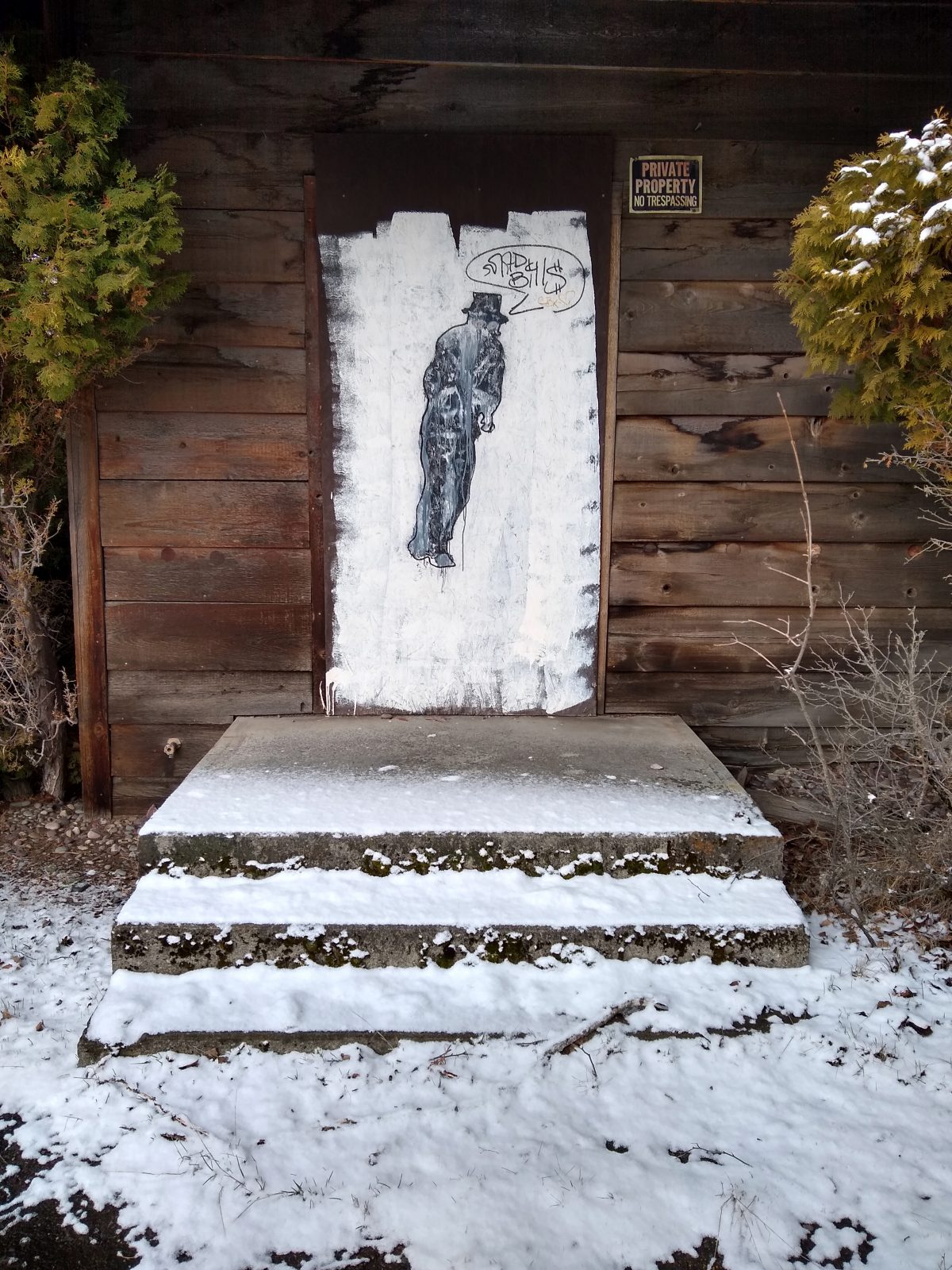 Door in Whitefish, MT - April 3, 2020