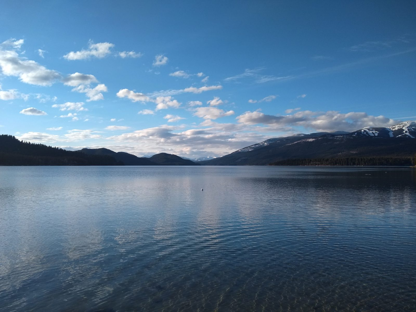Whitefish Lake - April 4, 2020