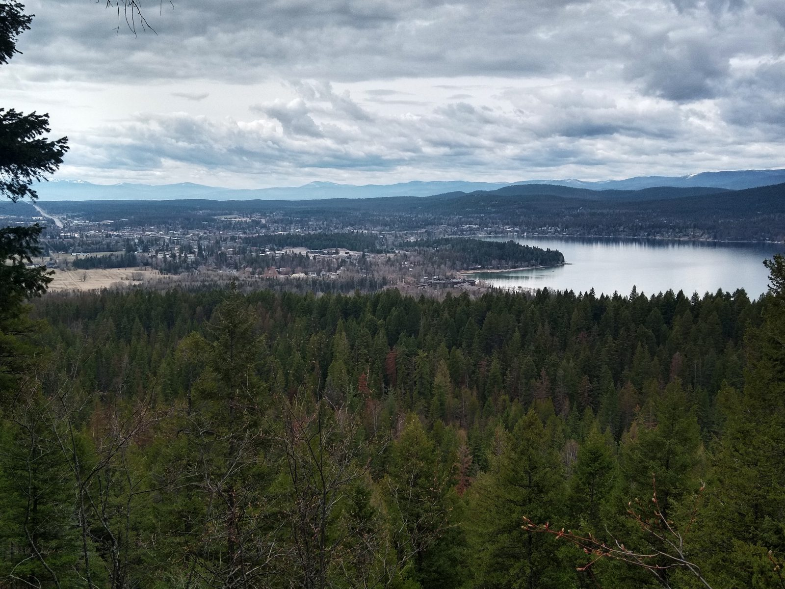 Whitefish Lake - April 25, 2020