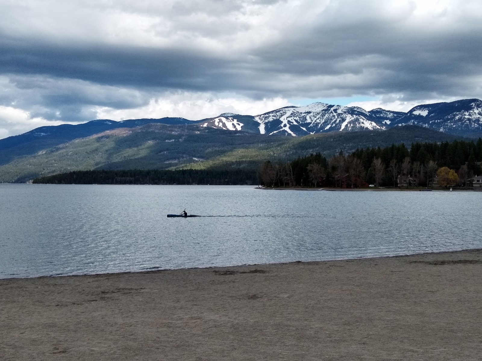 Whitefish Lake - April 30, 2020