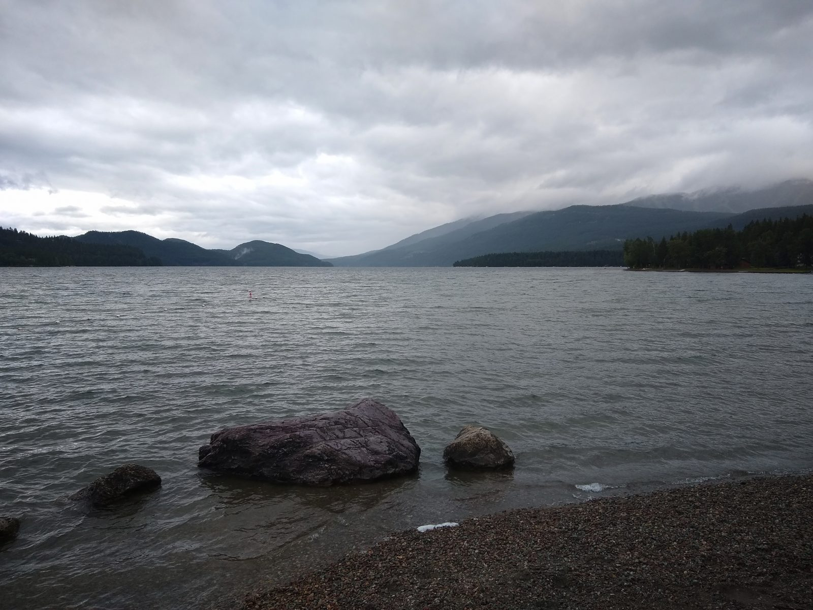 Whitefish Lake - July 1, 2020