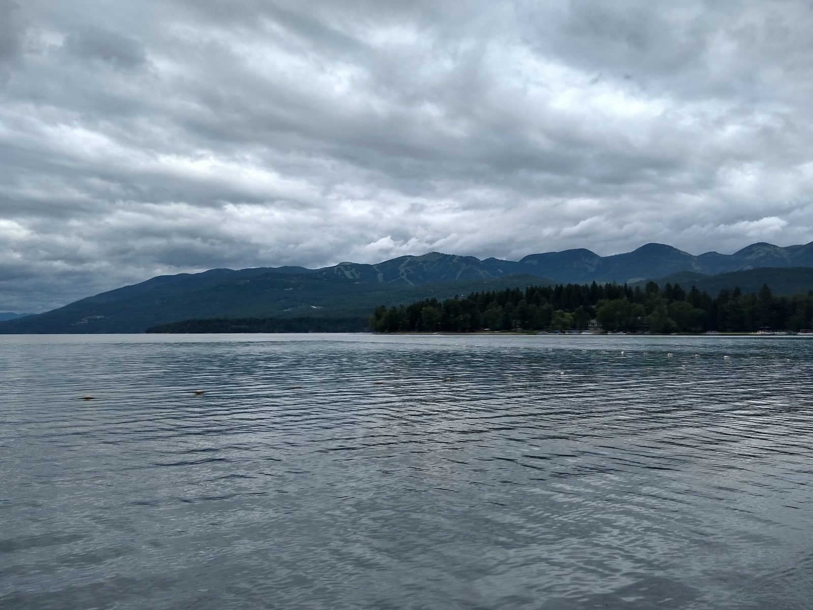 Whitefish Lake - July 8, 2020