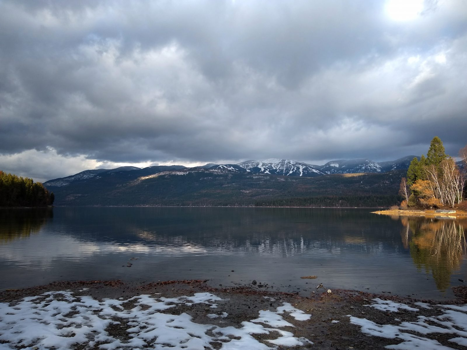 Whitefish Lake - November 21, 2020