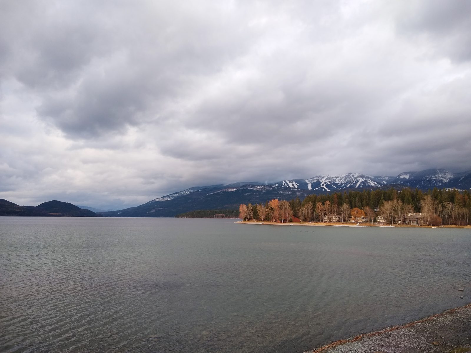 Whitefish Lake - November 20, 2020